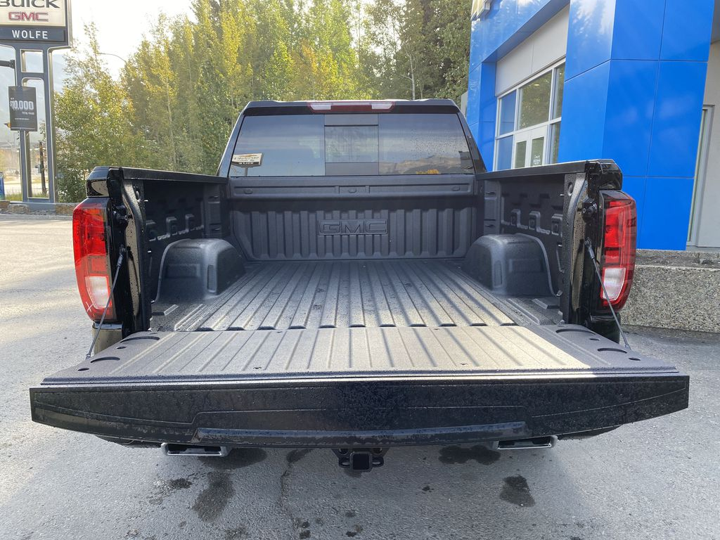 Black[Carbon Black Metallic] 2020 GMC Sierra 1500 Elevation Trunk / Cargo Area Photo in Canmore AB