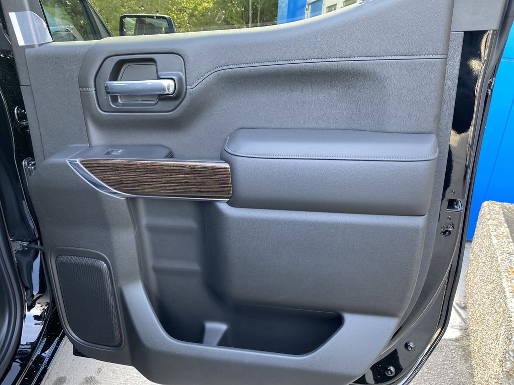 Black[Carbon Black Metallic] 2020 GMC Sierra 1500 Elevation Right Rear Interior Door Panel Photo in Canmore AB