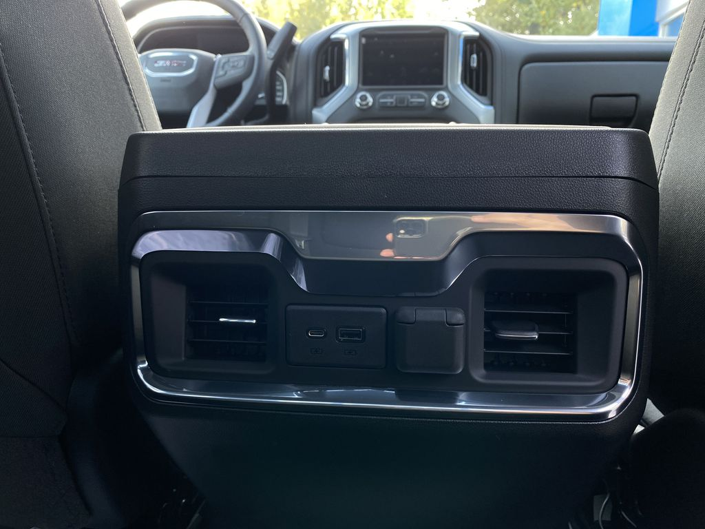 Black[Carbon Black Metallic] 2020 GMC Sierra 1500 Elevation Passenger Rear Door Controls Photo in Canmore AB
