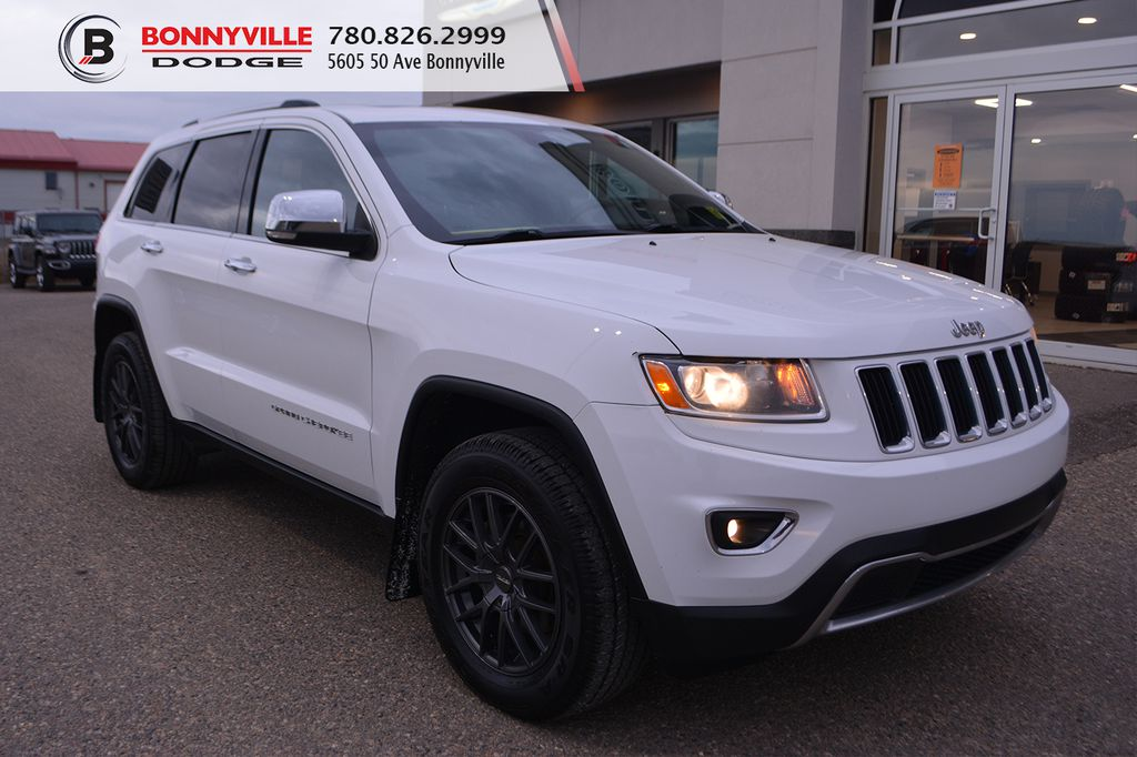 White[Bright White Clearcoat] 2014 Jeep Grand Cherokee