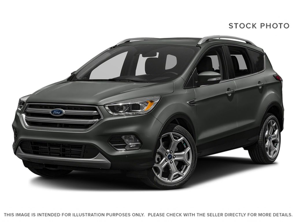 Gray[Magnetic] 2017 Ford Escape