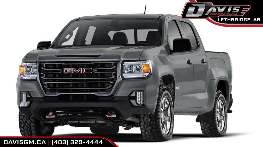 Dark Grey 2021 GMC Canyon