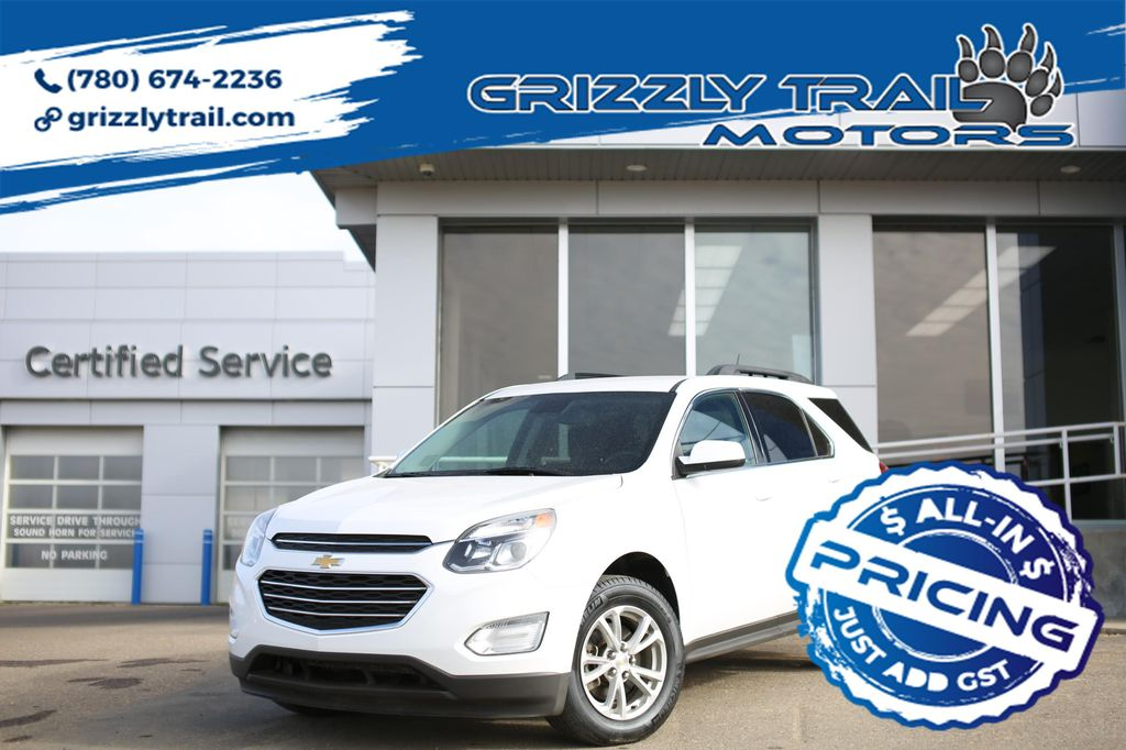 White 2016 Chevrolet Equinox