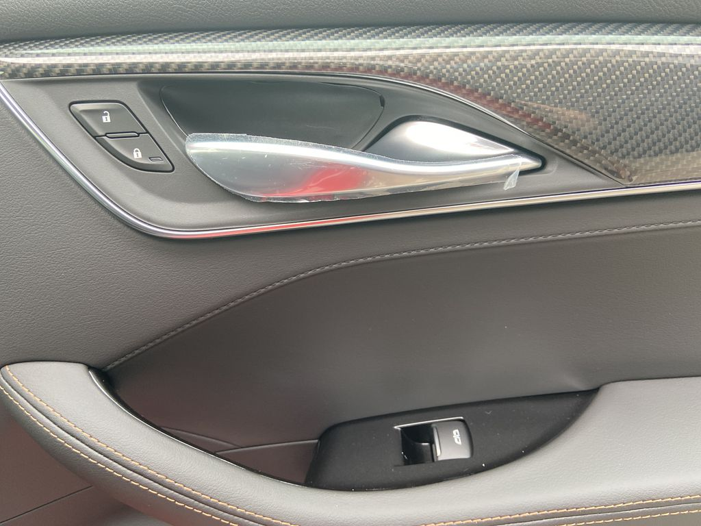 Red[Velocity Red] 2020 Cadillac CT5 Sport Passenger Rear Door Controls Photo in Calgary AB