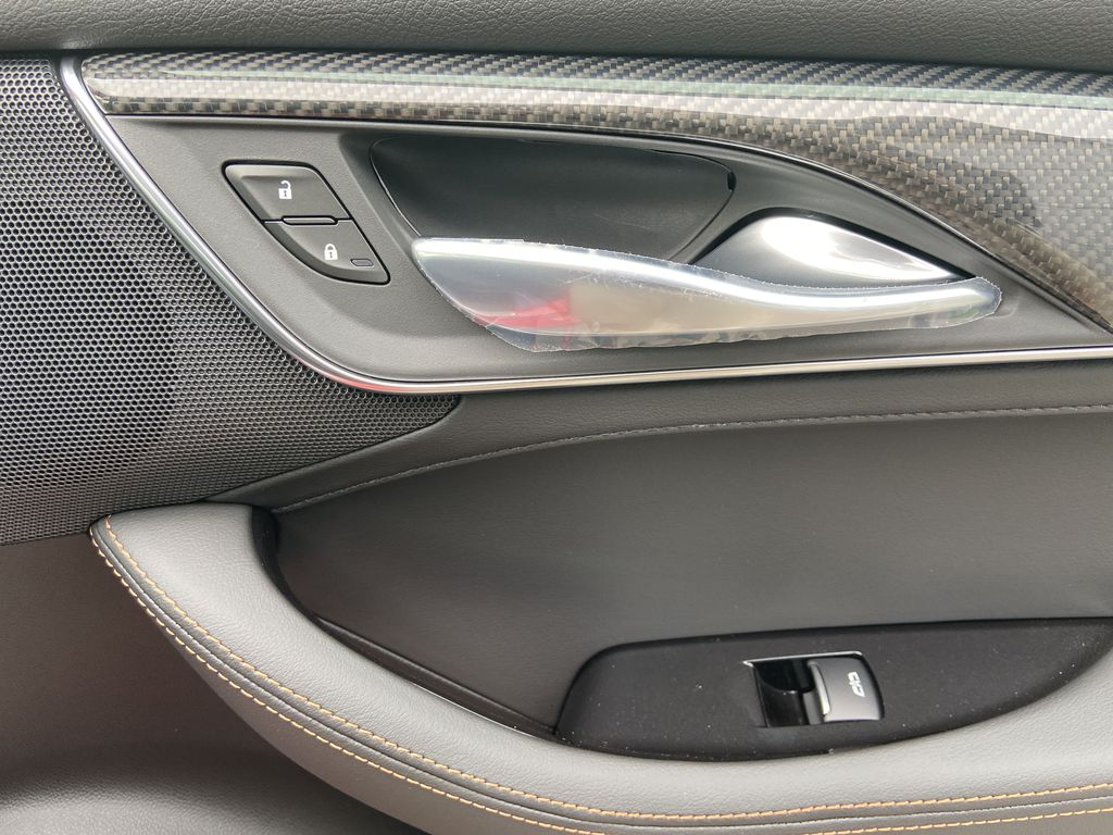 Red[Velocity Red] 2020 Cadillac CT5 Sport Passenger Front Door Controls Photo in Calgary AB