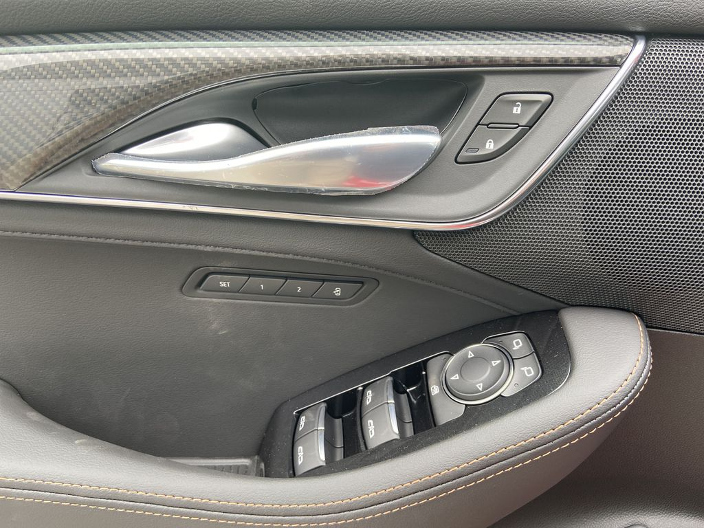 Red[Velocity Red] 2020 Cadillac CT5 Sport  Driver's Side Door Controls Photo in Calgary AB