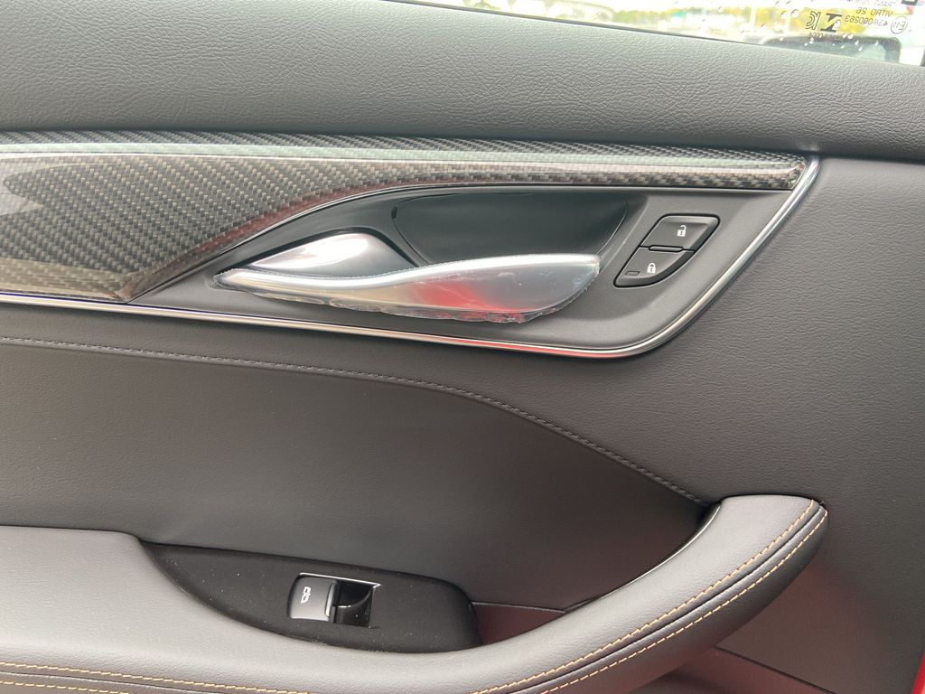 Red[Velocity Red] 2020 Cadillac CT5 Sport LR Door Panel Ctls Photo in Calgary AB