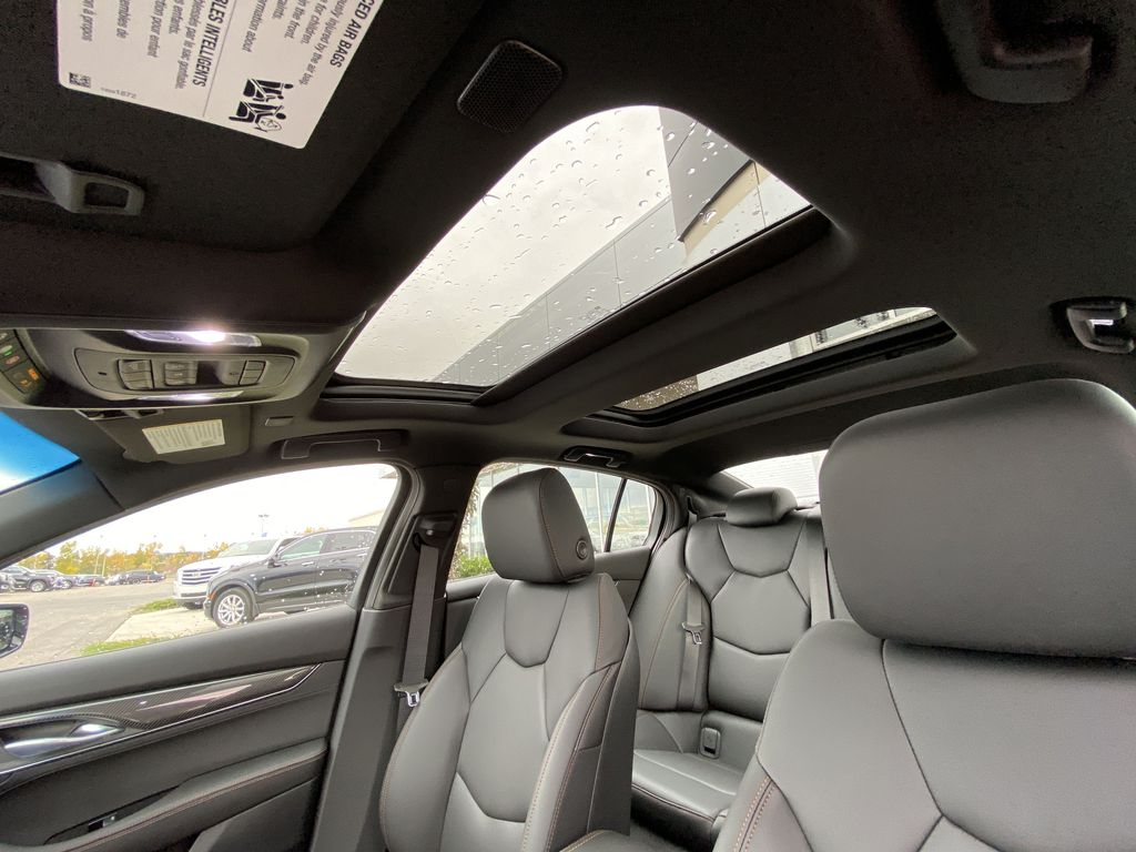 Red[Velocity Red] 2020 Cadillac CT5 Sport Sunroof Photo in Calgary AB