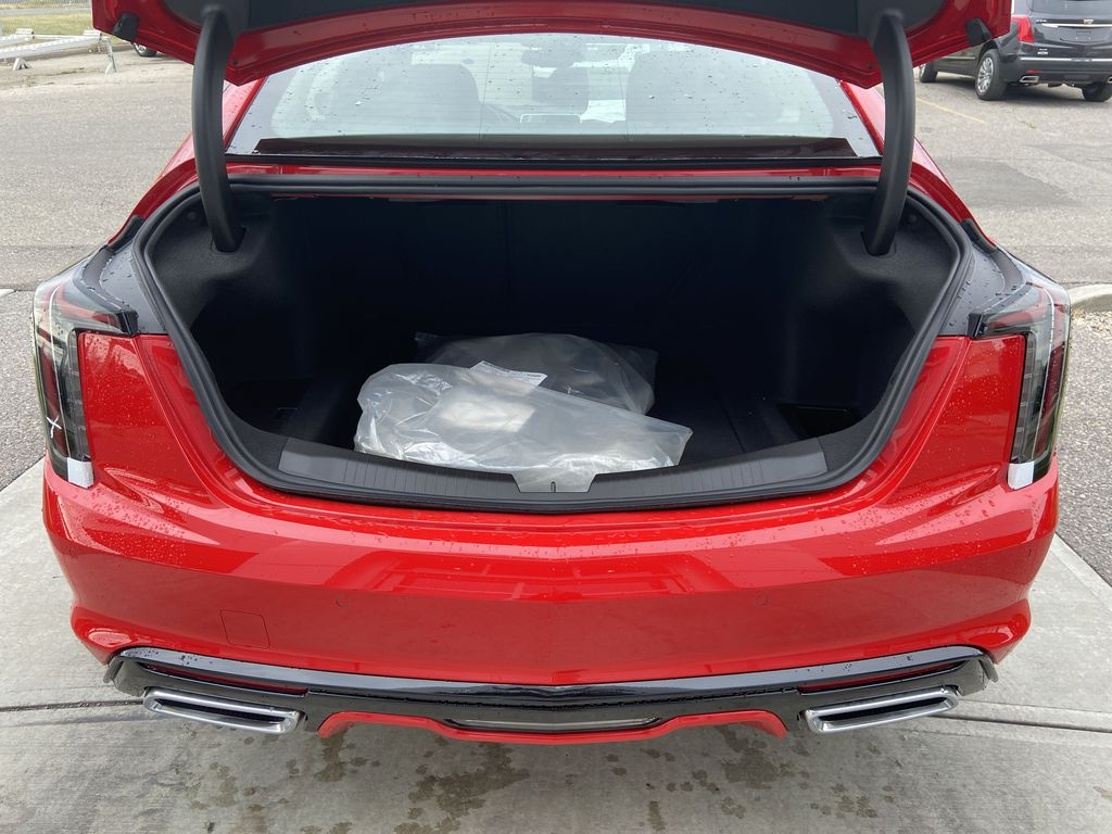 Red[Velocity Red] 2020 Cadillac CT5 Sport Trunk / Cargo Area Photo in Calgary AB