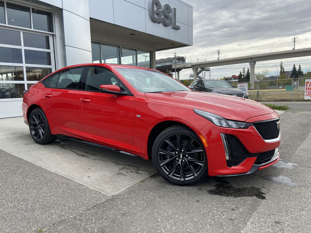 Red[Velocity Red] 2020 Cadillac CT5 Sport