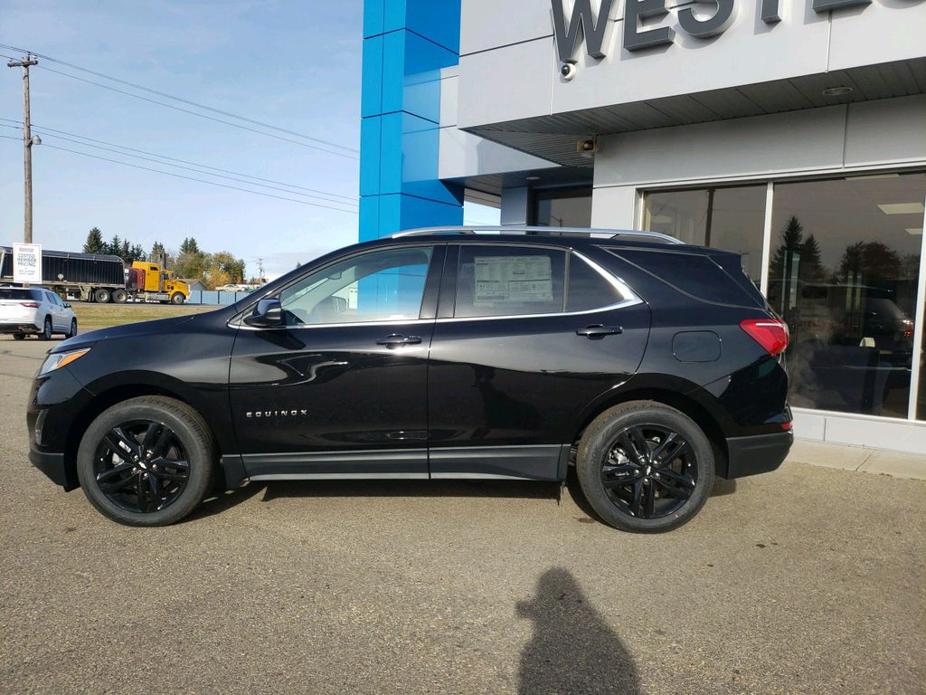 Black 2020 Chevrolet Equinox Left Front Head Light / Bumper and Grill in Westlock AB