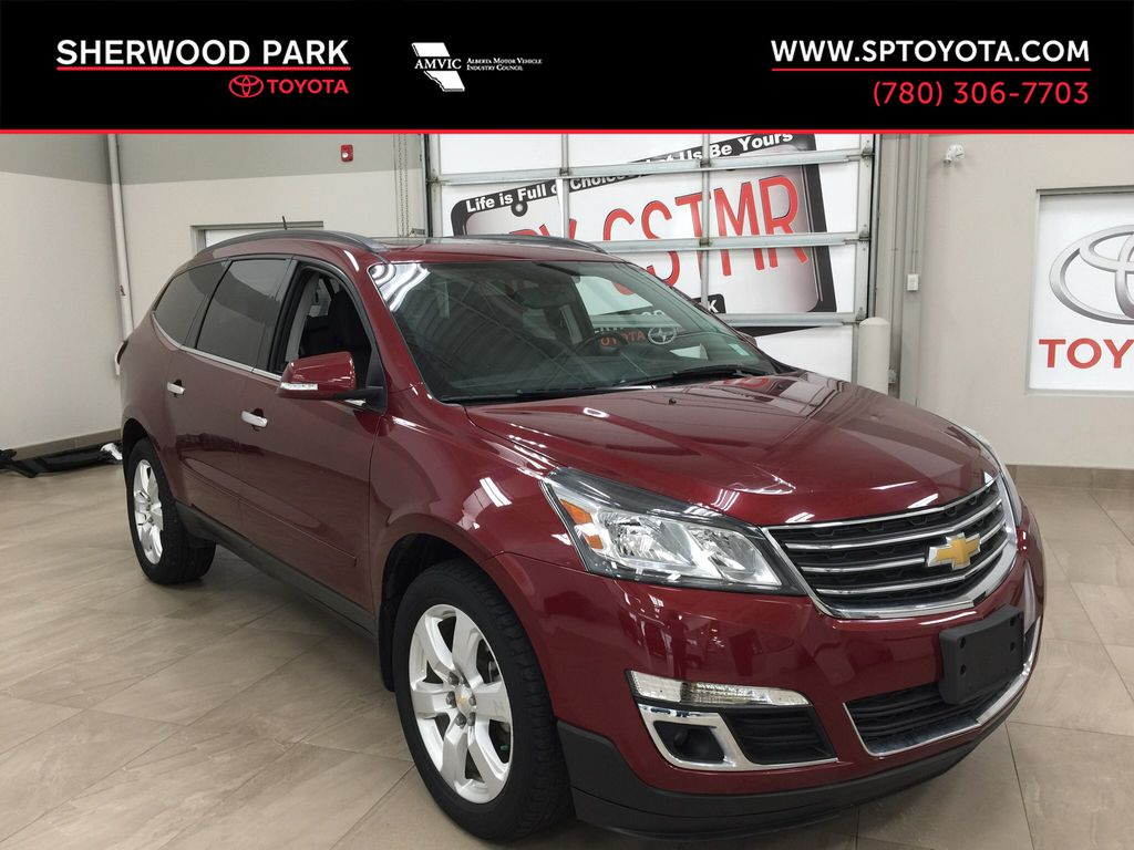 Red[Siren Red Tintcoat] 2016 Chevrolet Traverse