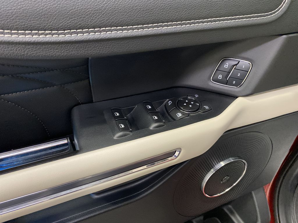 Red[Ruby Red Metallic Tinted Clearcoat] 2018 Ford Expedition  Driver's Side Door Controls Photo in Dartmouth NS