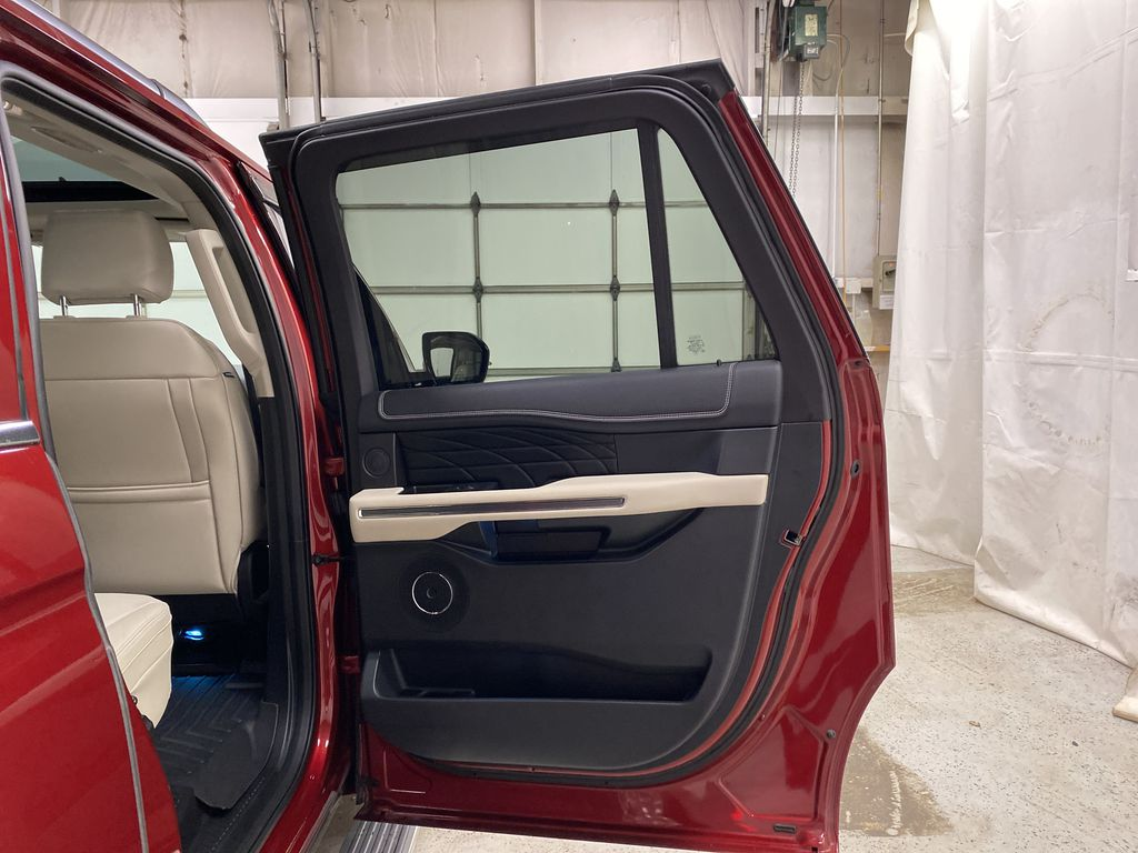 Red[Ruby Red Metallic Tinted Clearcoat] 2018 Ford Expedition Right Rear Interior Door Panel Photo in Dartmouth NS