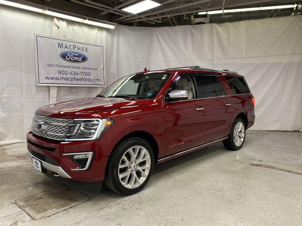 Red[Ruby Red Metallic Tinted Clearcoat] 2018 Ford Expedition