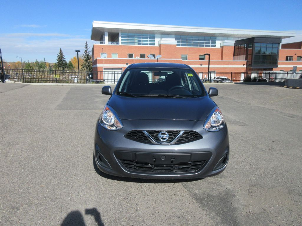 2019 Nissan Micra Steering Wheel and Dash Photo in Okotoks AB
