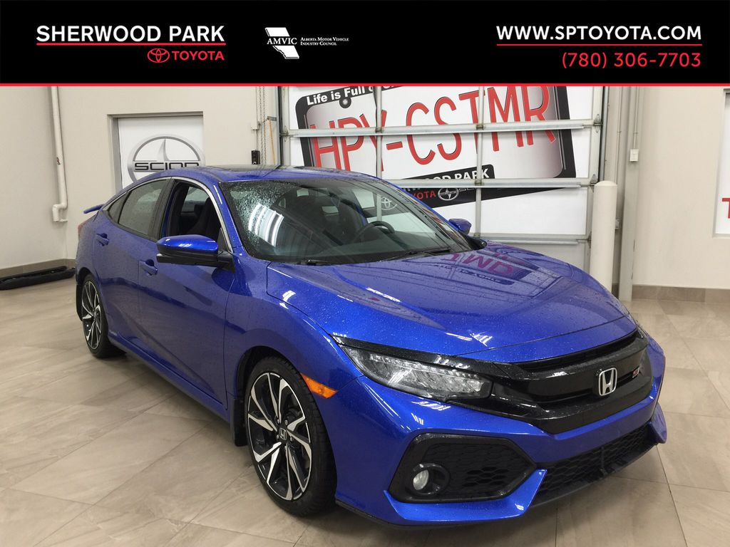 Blue[Aegean Blue Metallic] 2017 Honda Civic Si