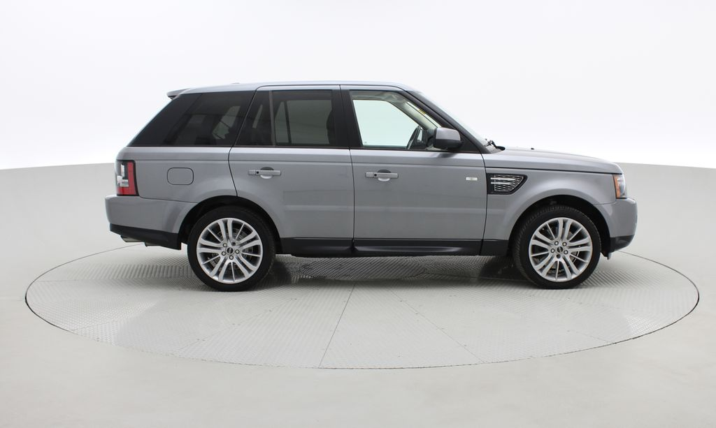 Gray[Orkney Grey Metallic] 2012 Land Rover Range Rover HSE LUX 4WD - Navigation, Almond Leather Right Side Photo in Winnipeg MB