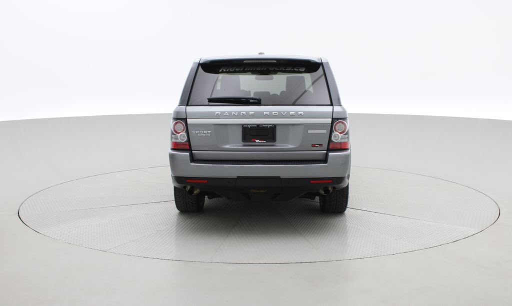 Gray[Orkney Grey Metallic] 2012 Land Rover Range Rover HSE LUX 4WD - Navigation, Almond Leather Rear of Vehicle Photo in Winnipeg MB