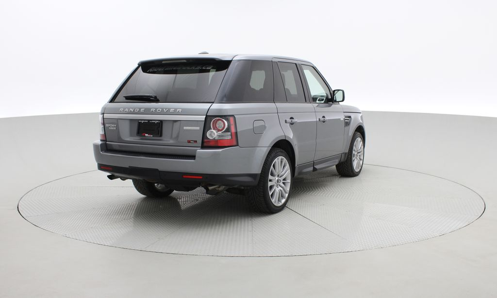 Gray[Orkney Grey Metallic] 2012 Land Rover Range Rover HSE LUX 4WD - Navigation, Almond Leather Right  Rear Corner Photo in Winnipeg MB