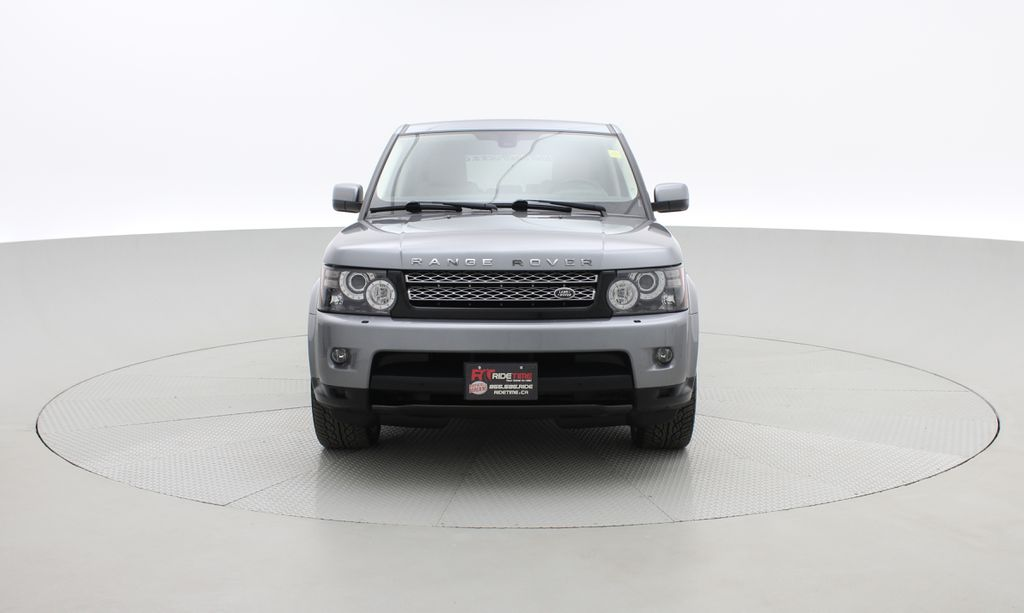 Gray[Orkney Grey Metallic] 2012 Land Rover Range Rover HSE LUX 4WD - Navigation, Almond Leather Front Vehicle Photo in Winnipeg MB