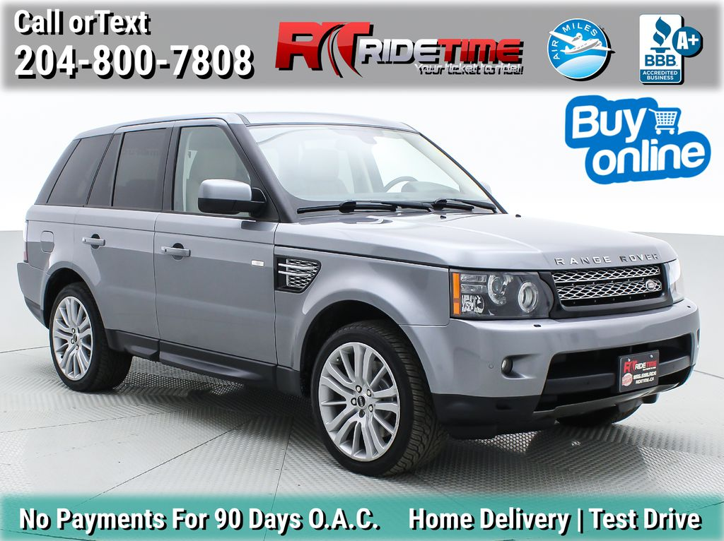Gray[Orkney Grey Metallic] 2012 Land Rover Range Rover HSE LUX 4WD - Navigation, Almond Leather