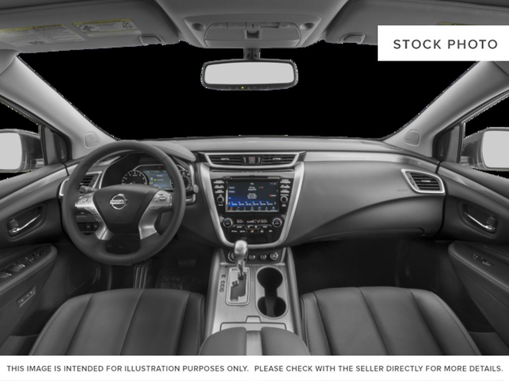 Black[Magnetic Black Metallic] 2015 Nissan Murano Central Dash Options Photo in Dartmouth NS