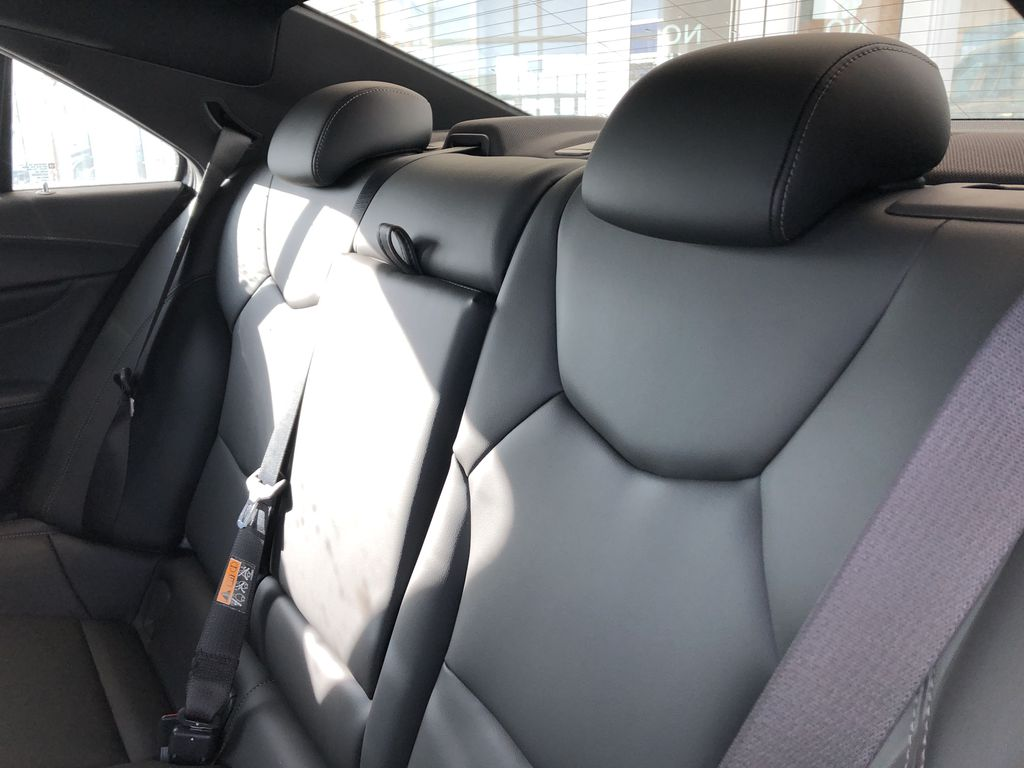 White[Crystal White Tricoat] 2020 Cadillac CT4 Left Side Rear Seat  Photo in Edmonton AB