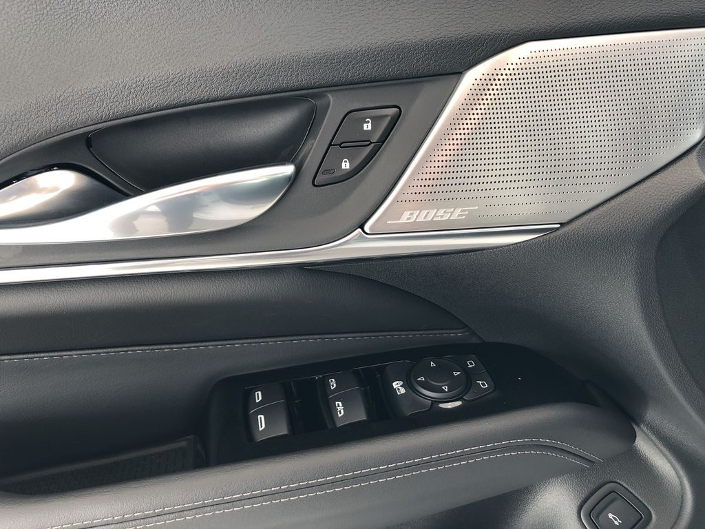 White[Crystal White Tricoat] 2020 Cadillac CT4  Driver's Side Door Controls Photo in Edmonton AB