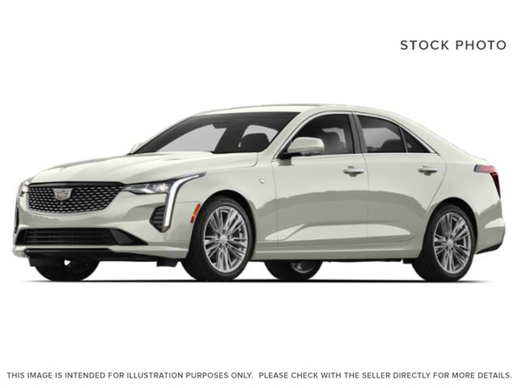 White[Crystal White Tricoat] 2020 Cadillac CT4
