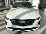 White[Crystal White Tricoat] 2020 Cadillac CT4 Front Vehicle Photo in Edmonton AB