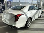 White[Crystal White Tricoat] 2020 Cadillac CT4 Right Rear Corner Photo in Edmonton AB