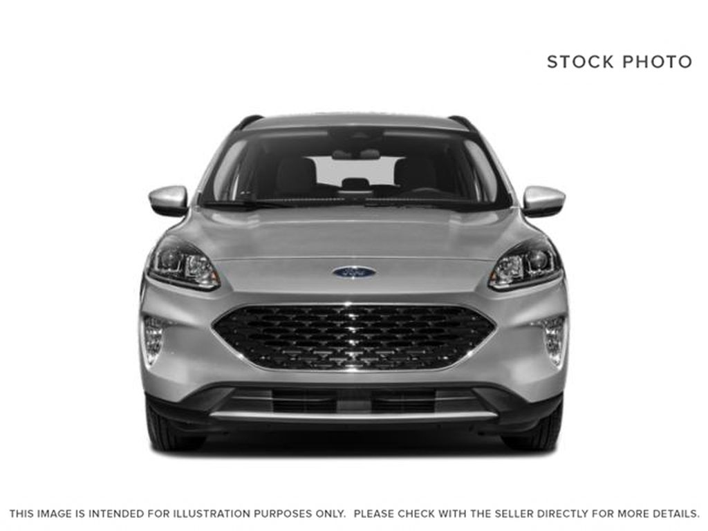 White[Oxford White] 2020 Ford Escape Front Vehicle Photo in Dartmouth NS