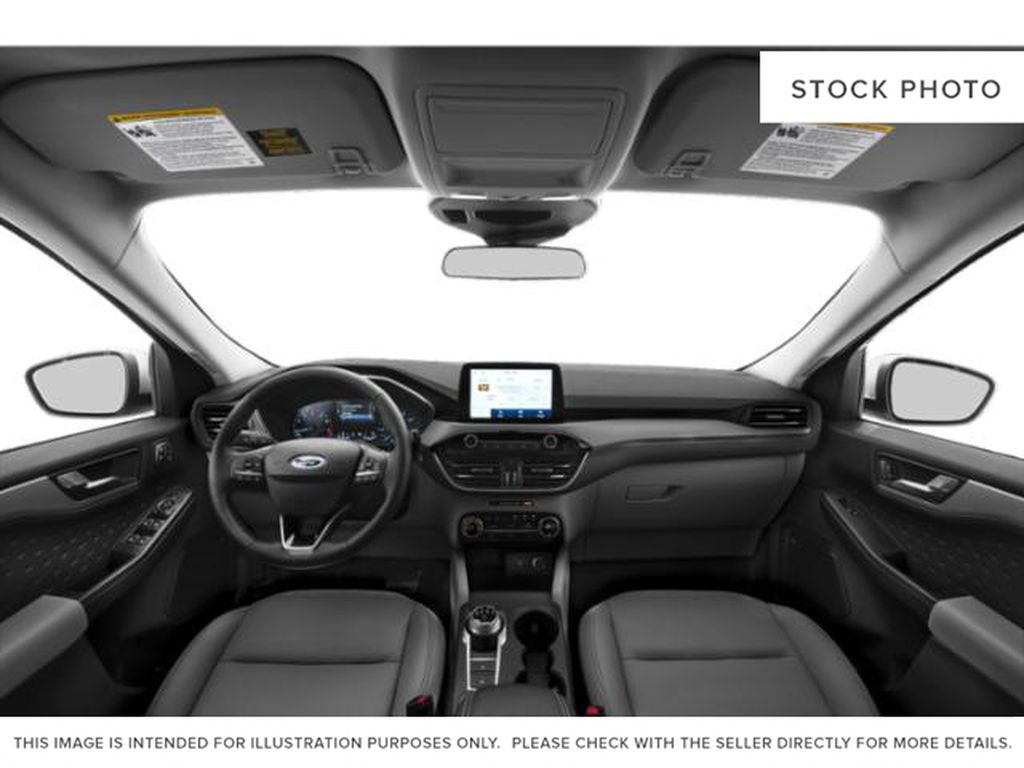 White[Oxford White] 2020 Ford Escape Central Dash Options Photo in Dartmouth NS