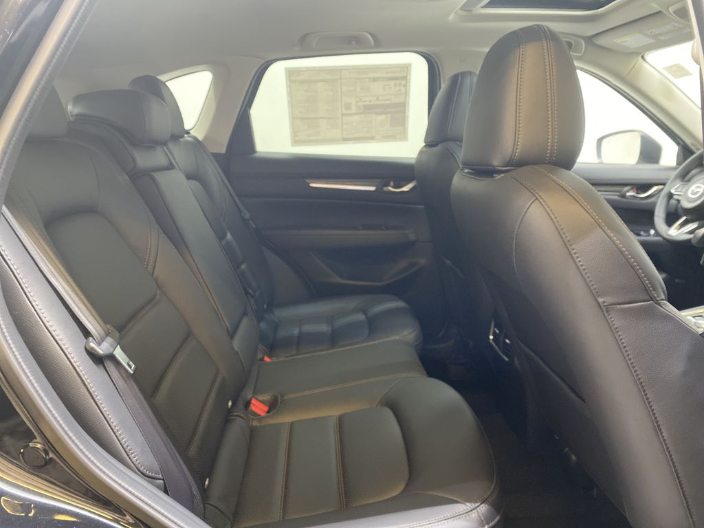 JET BLACK MICA(41W) 2021 Mazda CX-5 GT AWD Right Side Rear Seat  Photo in Edmonton AB