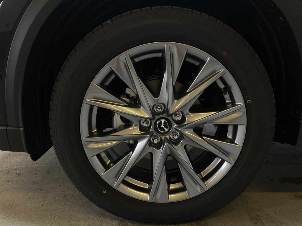 JET BLACK MICA(41W) 2021 Mazda CX-5 GT AWD Left Front Rim and Tire Photo in Edmonton AB