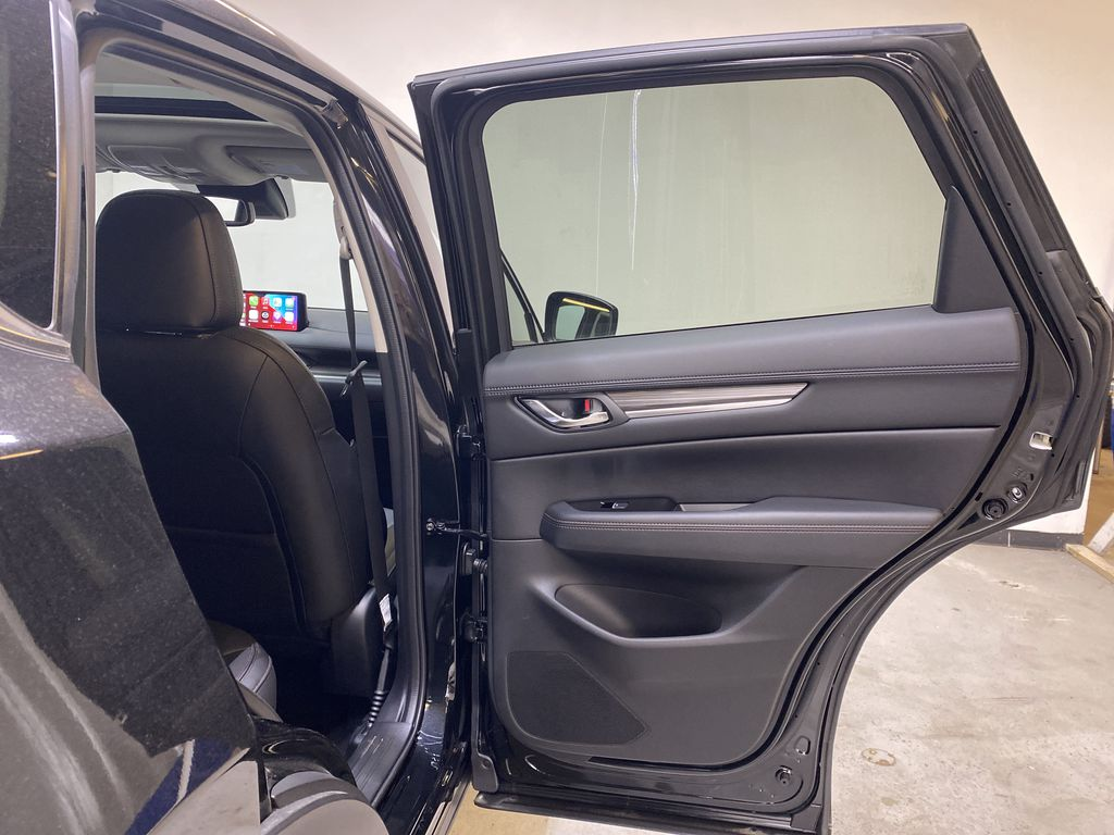 JET BLACK MICA(41W) 2021 Mazda CX-5 GT AWD Right Rear Interior Door Panel Photo in Edmonton AB