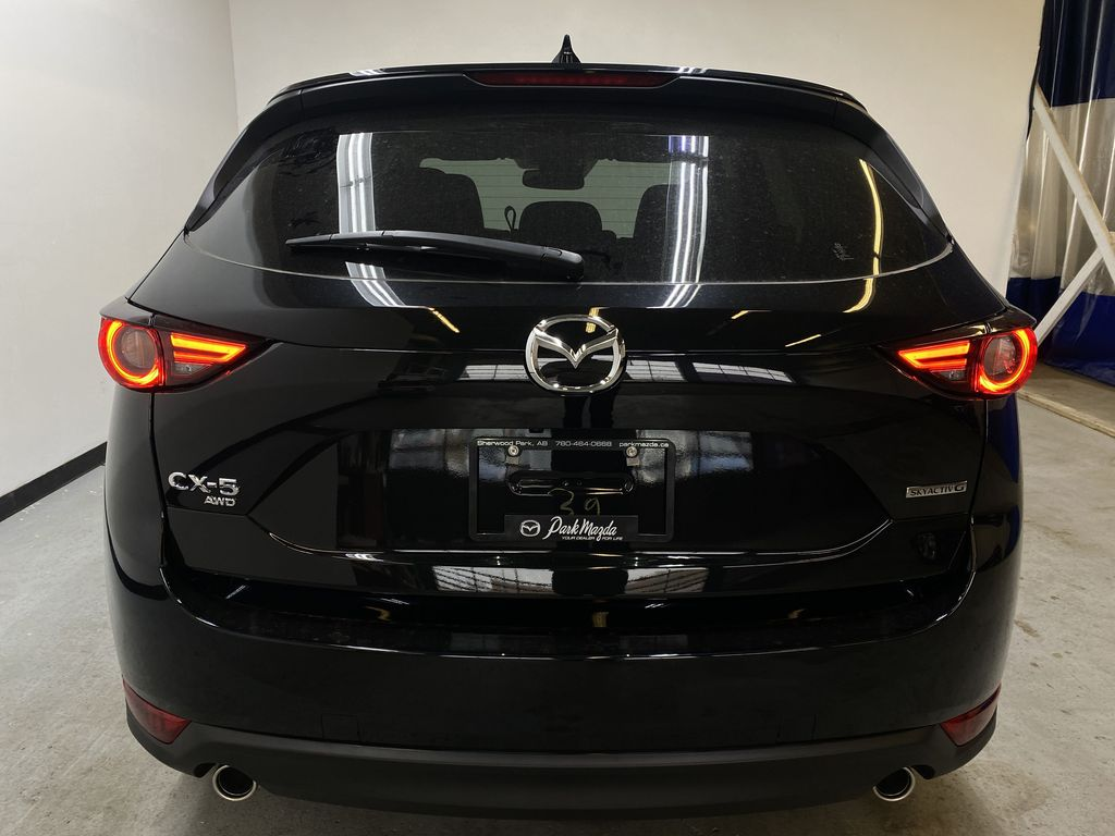 JET BLACK MICA(41W) 2021 Mazda CX-5 GT AWD Rear of Vehicle Photo in Edmonton AB