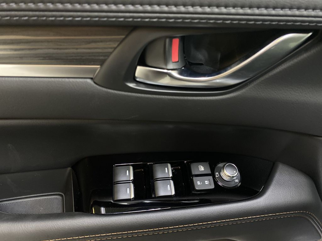 JET BLACK MICA(41W) 2021 Mazda CX-5 GT AWD  Driver's Side Door Controls Photo in Edmonton AB