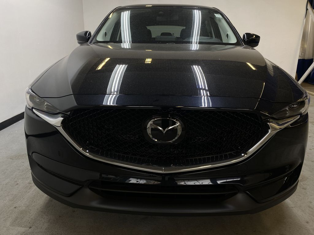 JET BLACK MICA(41W) 2021 Mazda CX-5 GT AWD Front Vehicle Photo in Edmonton AB