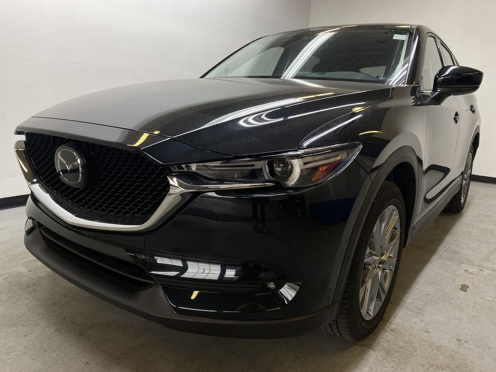 JET BLACK MICA(41W) 2021 Mazda CX-5 GT AWD Left Front Head Light / Bumper and Grill in Edmonton AB