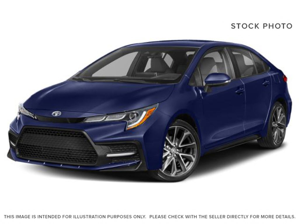 Blue[Blue Crush Metallic] 2020 Toyota Corolla