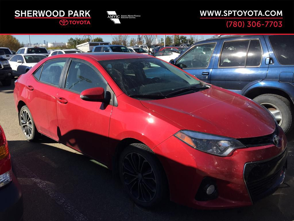 Red[Absolutely Red] 2016 Toyota Corolla S