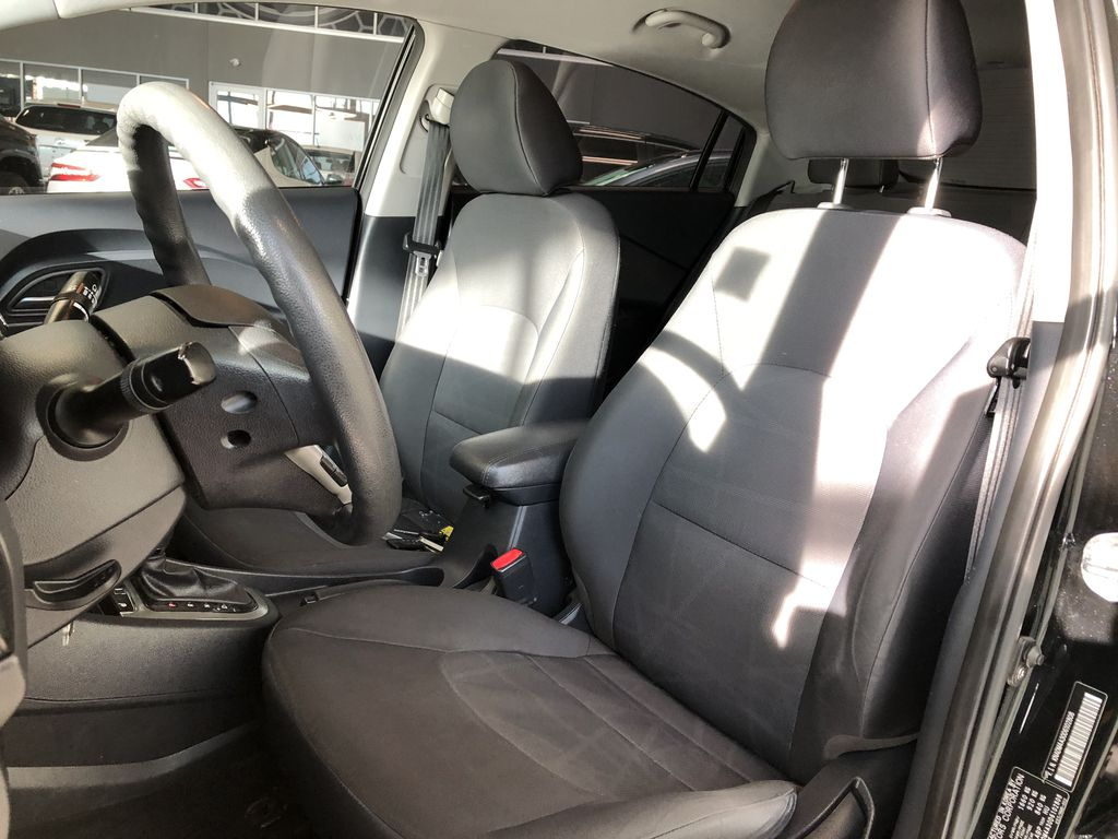 Black 2013 Kia Rio LX+ Central Dash Options Photo in Edmonton AB