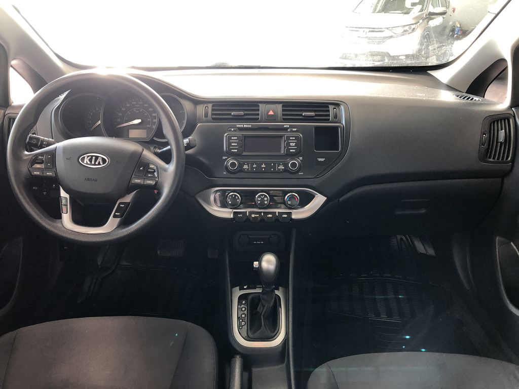Black 2013 Kia Rio LX+ Third Row Seat or Additional  Photo in Edmonton AB