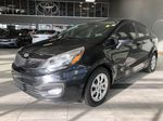 Black 2013 Kia Rio LX+ Left Side Rear Seat  Photo in Edmonton AB
