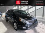 Black 2013 Kia Rio LX+ Primary Listing Photo in Edmonton AB