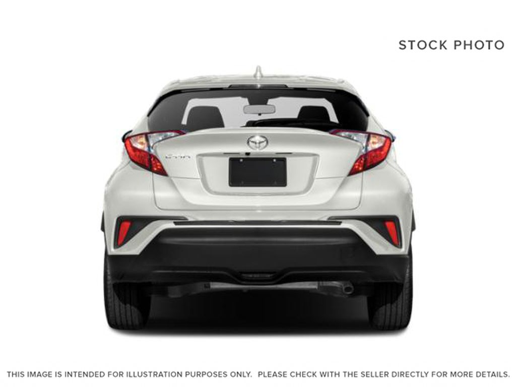 Black[Black Sand Pearl w/Silver Roof] 2021 Toyota C-HR Limited Rear of Vehicle Photo in Kelowna BC