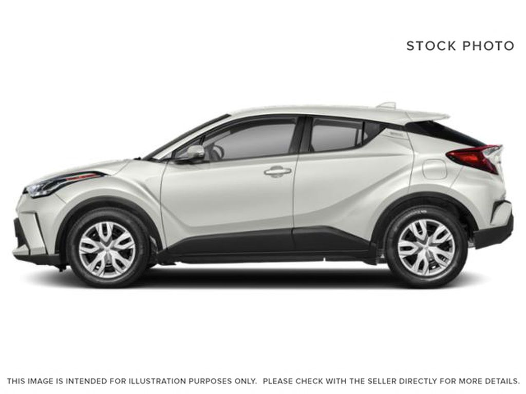 Black[Black Sand Pearl w/Silver Roof] 2021 Toyota C-HR Limited Left Side Photo in Kelowna BC