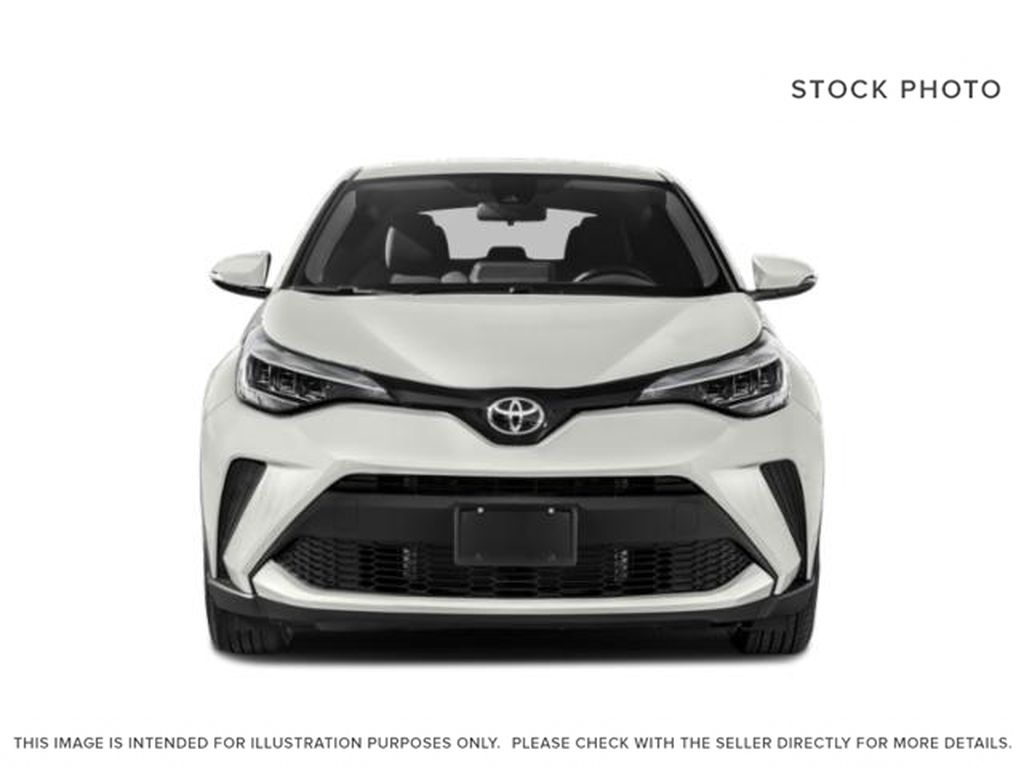 Black[Black Sand Pearl w/Silver Roof] 2021 Toyota C-HR Limited Front Vehicle Photo in Kelowna BC